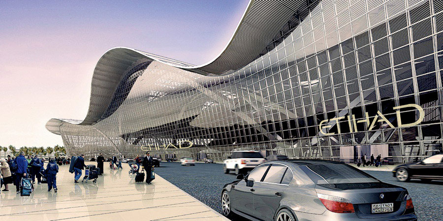 Abu Dhabi international Airport Expansion Etihad Terminal 3