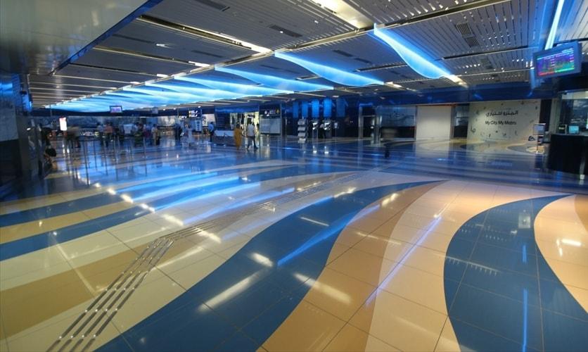 Dubai Metro Project Depot, Dubai