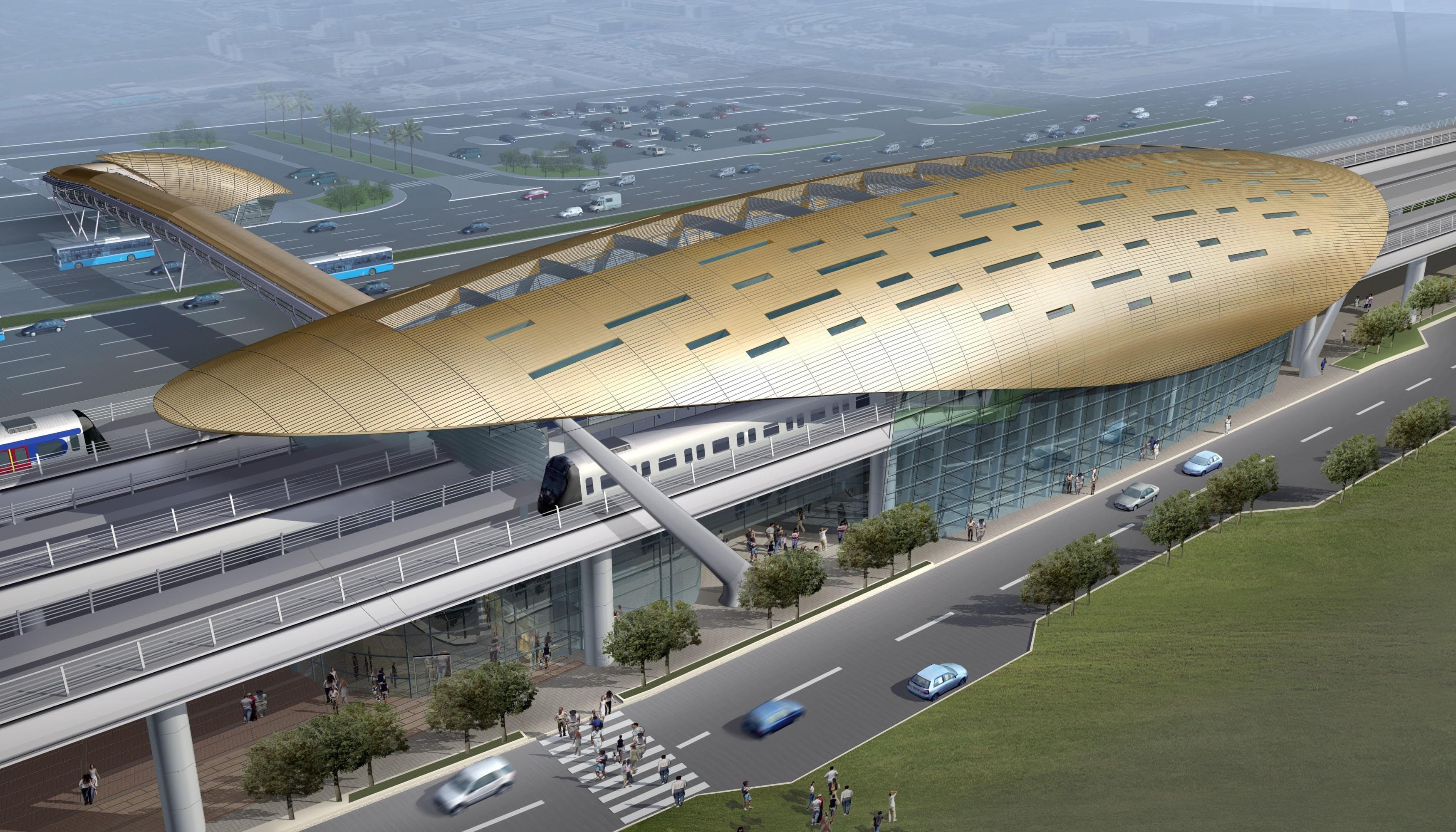 Dubai Metro Project, Dubai