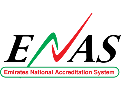 Emirates National Accreditation System logo image