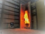 Large Scale Fire Propagation Testing image