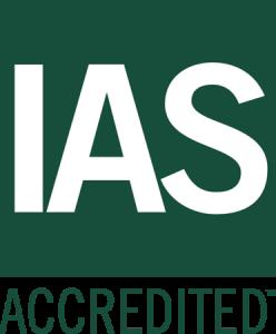 IAS Accredited logo image