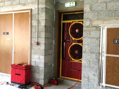 Whole Building Air Leakage Testing image